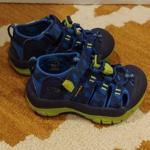 Keen Newport H2 blue depths (kids 8) sandals